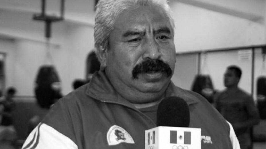 Francisco Bonilla entrenador de boxeo