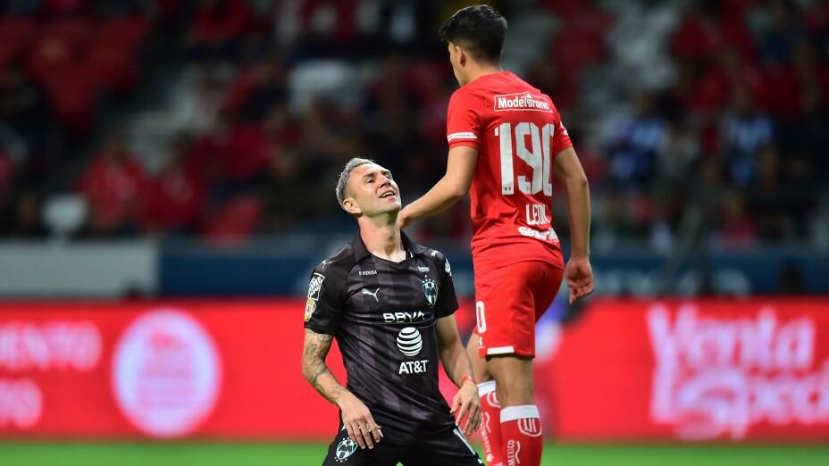 Se pospone el partido entre Rayados de Monterrey vs Toluca