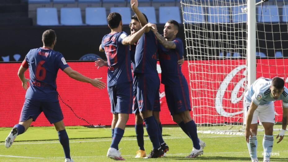 Luis Suárez vuelve anotar en el triunfo del Atlético de Madrid
