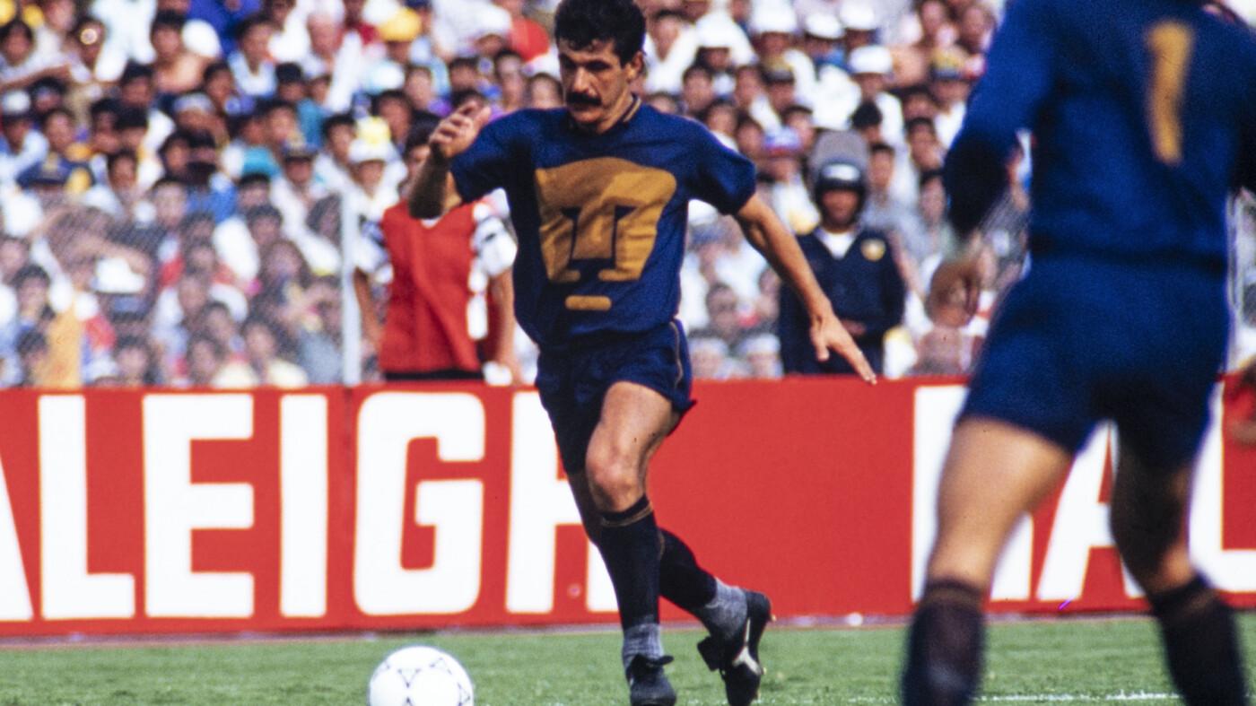 El 'Tuca' Ferretti era toda una gacela en Pumas.