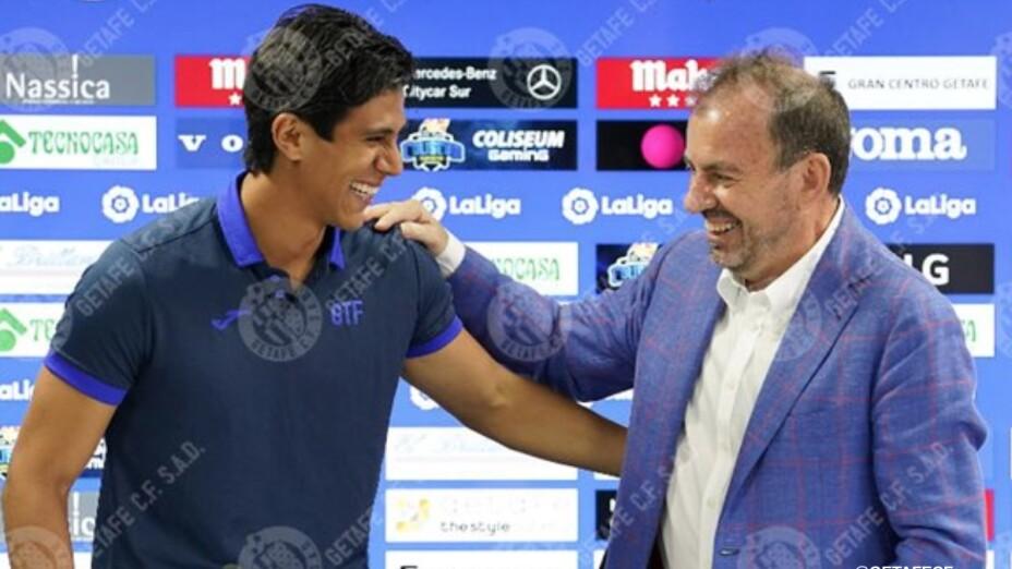 J.J. Macías con Ángel Torres