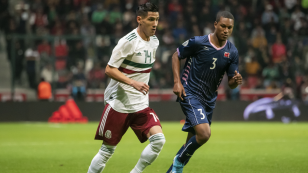 Selección Mexicana contra Bermudas