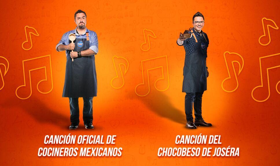 Cocineros Mexicanos, canciones