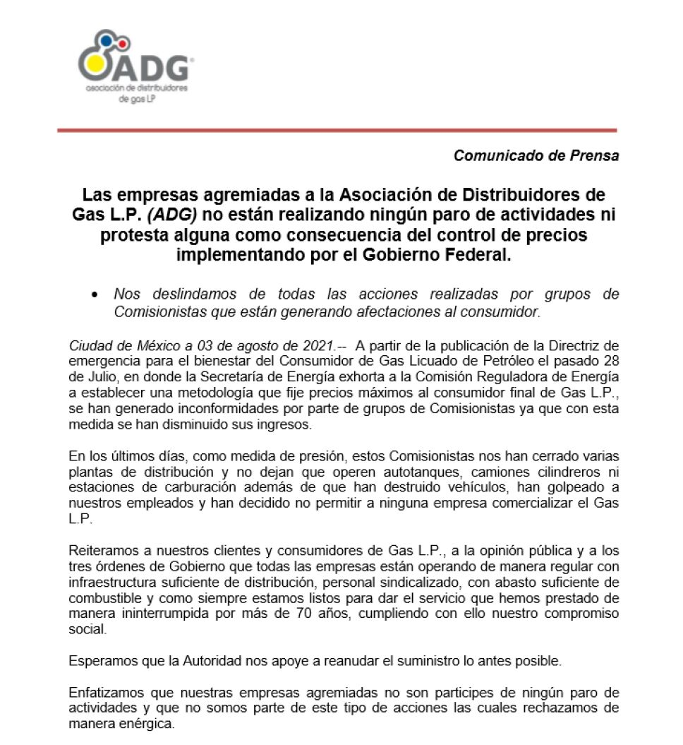 B01DCB Posicionamiento Asociaciones de Distribuidores de Gas LP, ADG y la Amexgas.png