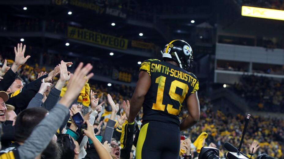 JuJu Smith-Schuster saldrá de los Pittsburgh Steelers