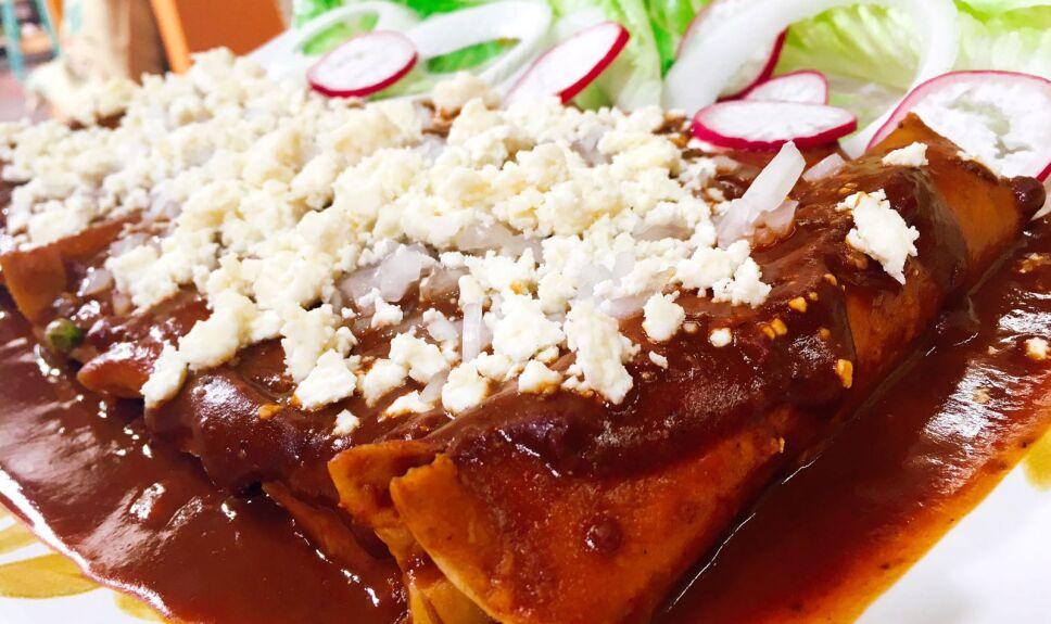 Receta Enchiladas dulces de cuaresma Cocineros Mexicanos