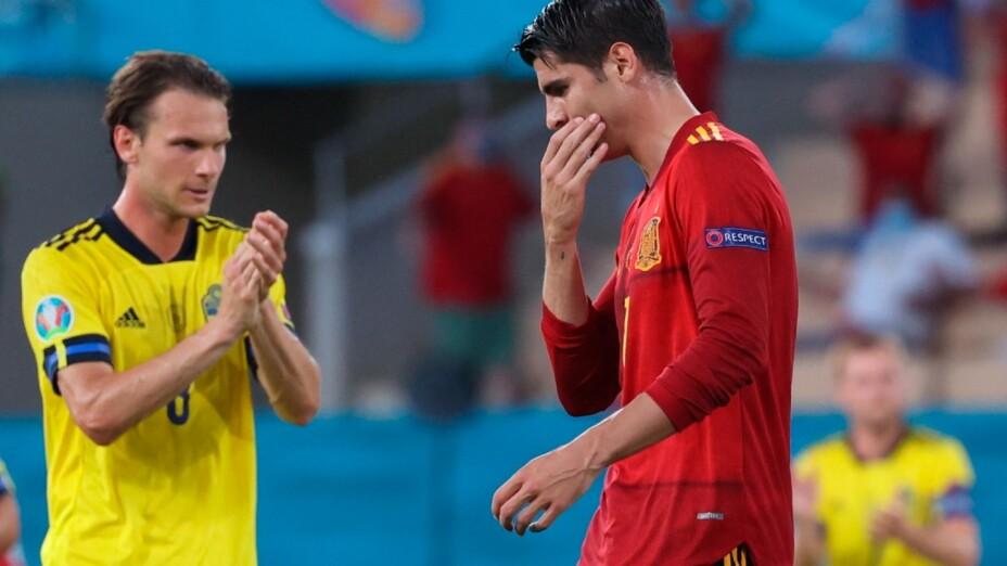 España y Suecia, en la Euro 2020.jpg