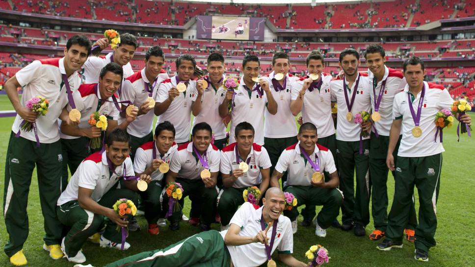 México se bañó de oro en Londres 2012