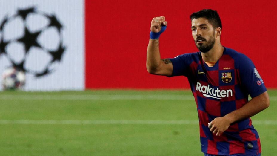 Luis Suárez explota contra el Barcelona