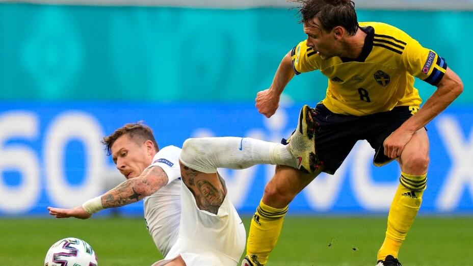 Actividad del Suecia vs Eslovaquia de la Euro 2020