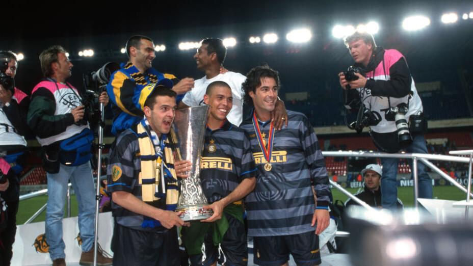 Ronaldo Nazario se consagró en la Europa League en 1998