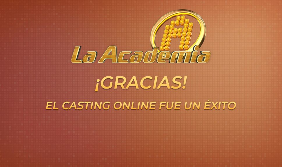 La Academia Casting Online gracias