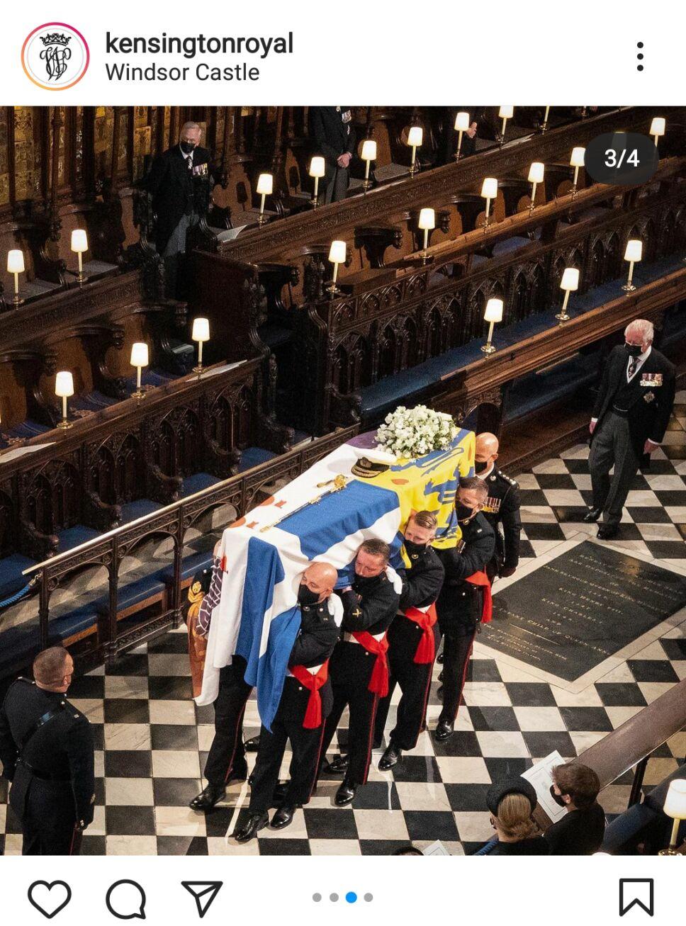 Funeral príncipe de Edimburgo