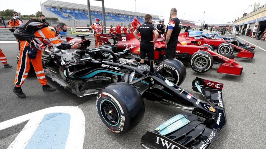 Autos de la Fórmula 1
