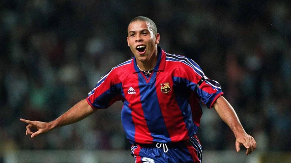 Ronaldo Nazario en el Barcelona