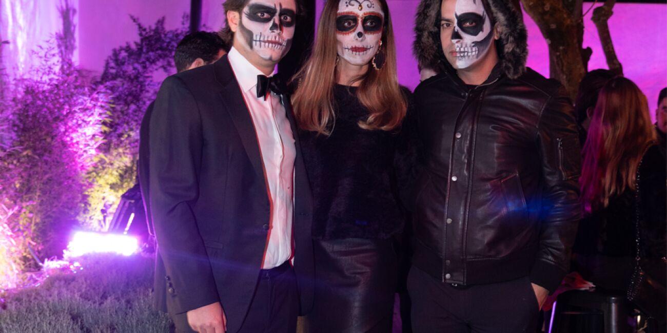 Antiego Jiménez, Estefi Pousel y César Rodríguez