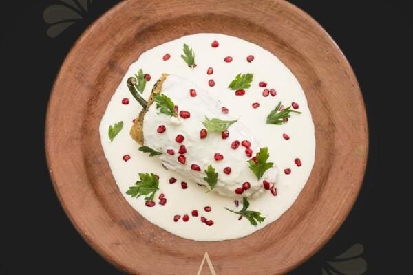 La historia del chile en nogada de Augurio Restaurante