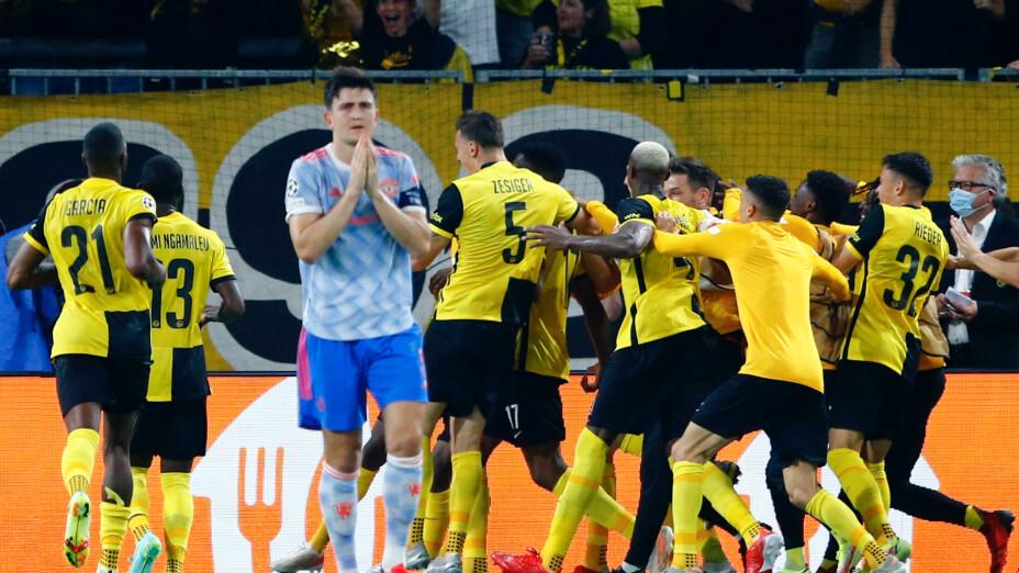 Young Boys derrota al Manchester de Cristiano Ronaldo.