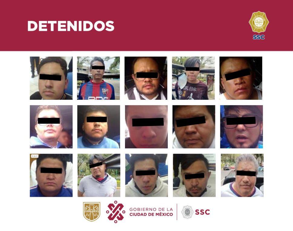 Detenidos partido Atlante vs Celaya