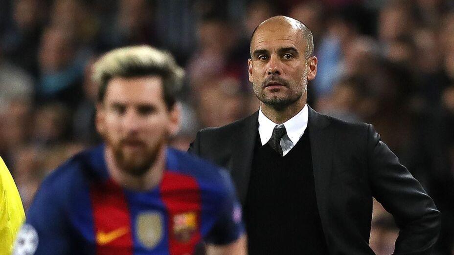 Pep y Messi