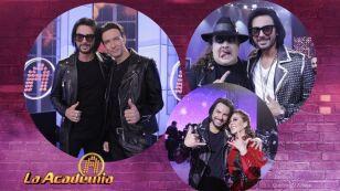 Beto Cuevas compartió el escenario de La Academia con iconos del Rock mexicano