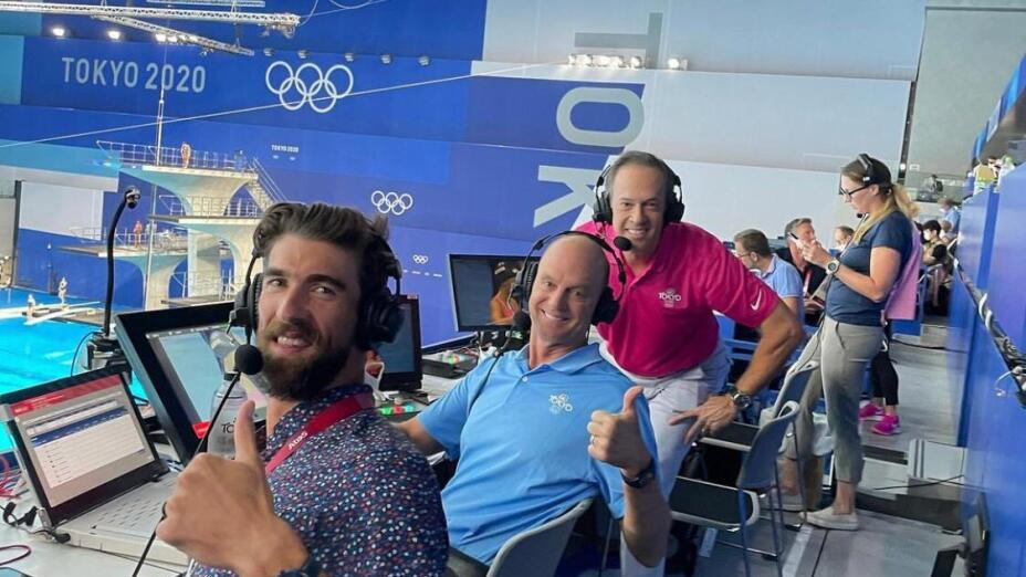 Michael Phelps en Tokio 2020