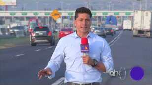 Delincuencia en la autopista México-Pachuca.