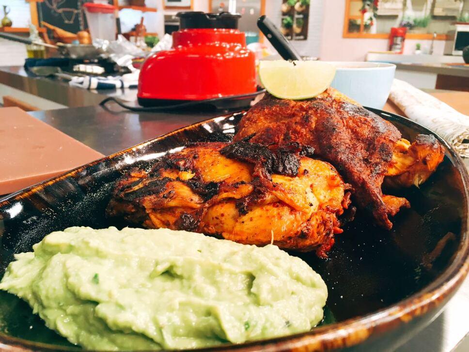 pollo al ladrillo, cocineros mexicanos
