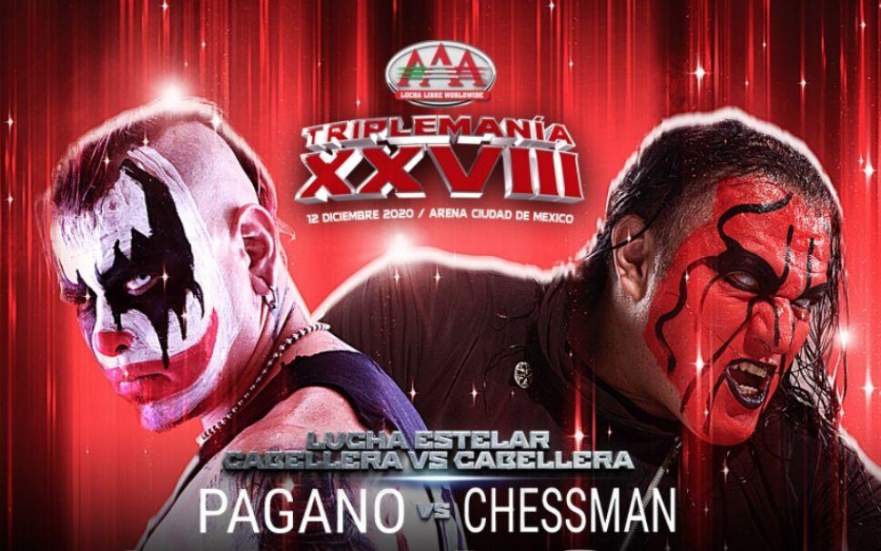 Triplemanía XXVIII Pagano contra Chessman 12 de diciembre
