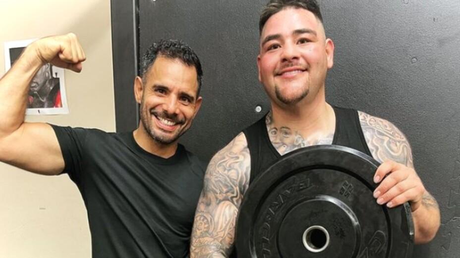 Andy Ruiz regresa a los entrenamientos