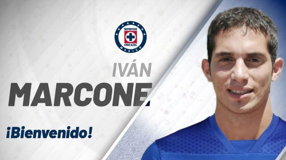 Ivan Marcone ya es de Cruz Azul