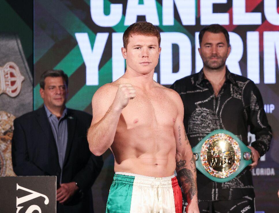 Saúl Canelo Álvarez boxeador mexicano