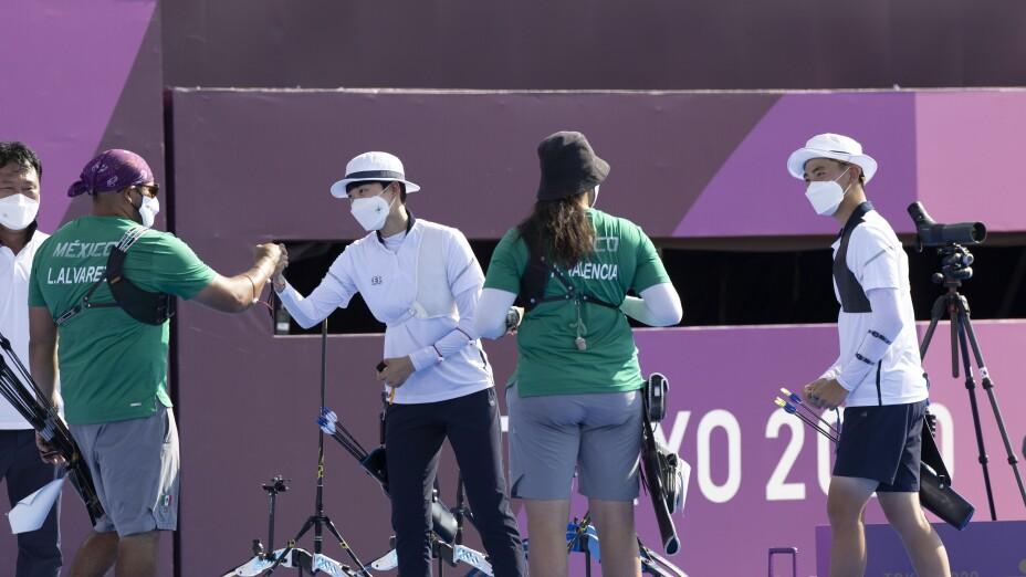 Tiro con Arco México Corea del Sur Abuelo Álvarez