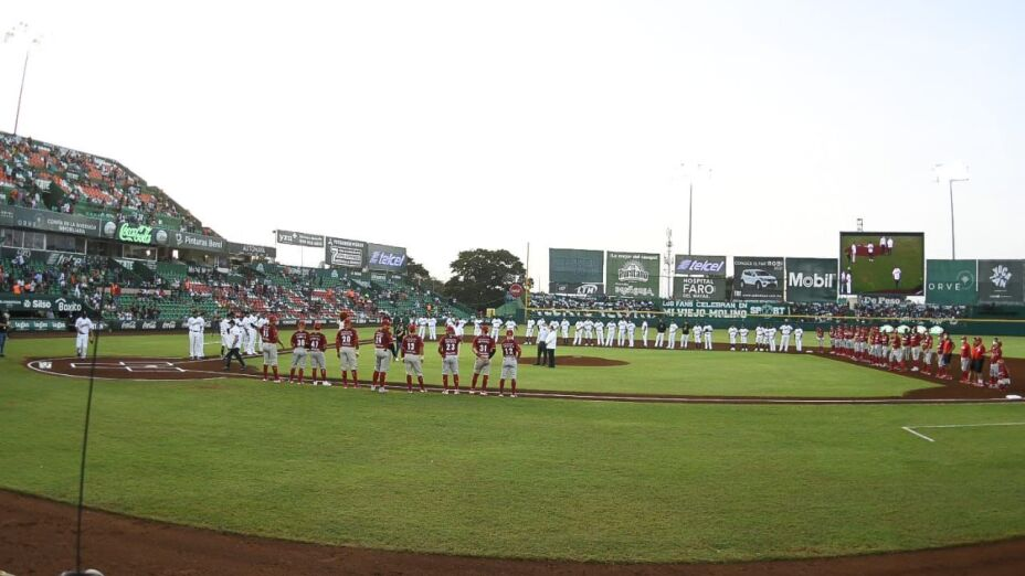 Leones de Yucatán vs Diablos Rojos del México LMB