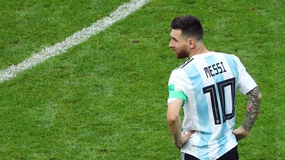 messi no jugará con seleccion argentina