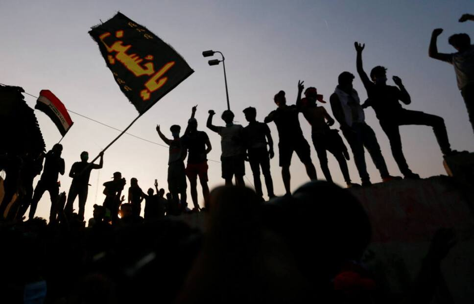 iraq protestas incendios2