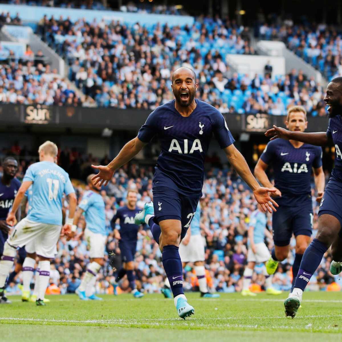 Lucas Moura Spurs Goals: Manchester City Vs Tottenham