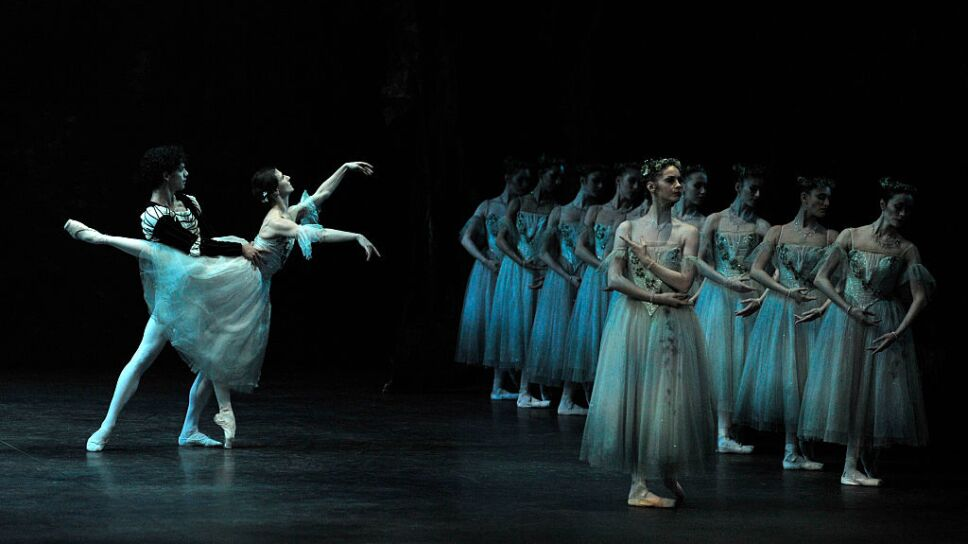 """English National Ballet's production of """"Giselle"""" at the London Coliseum"""