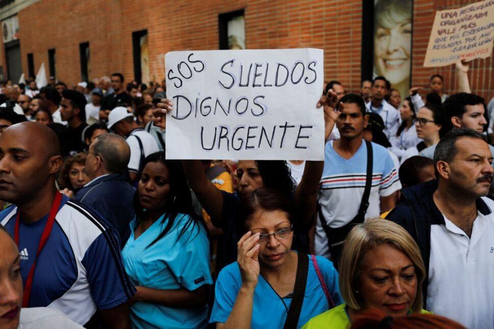 venezuela protesta salud