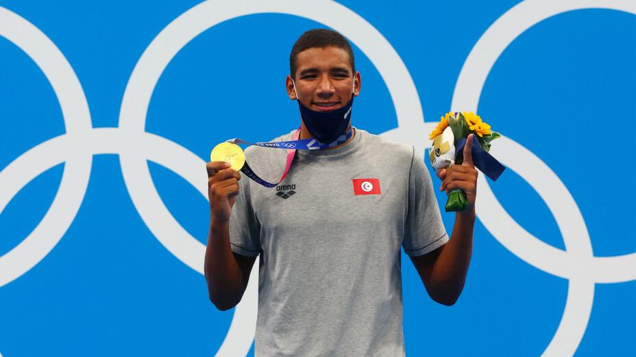 Ahmed Hafnaoui natación en Tokio 2020