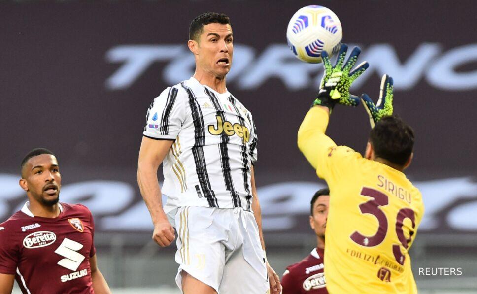 Cristiano Ronaldo ante Torino