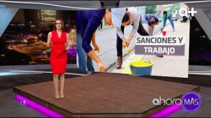 ¡Sanciones y trabajo!