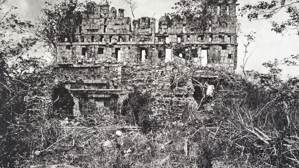 Entre las imágenes que puedes ver en la muestra está la primer foto que se hizo de Tulum