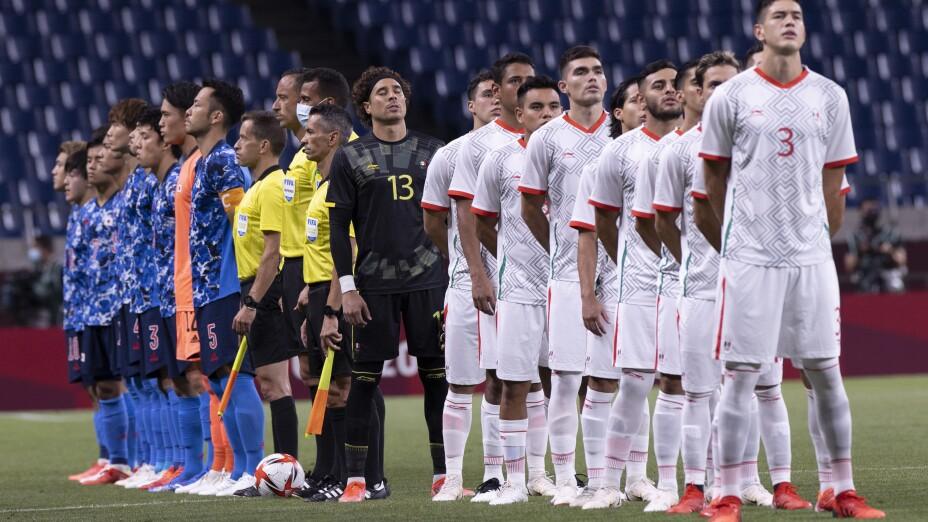 México sufre dolorosa derrota ante Japón en el futbol varonil |FOTOS