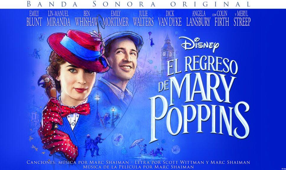 Mary Poppins música kidsiete