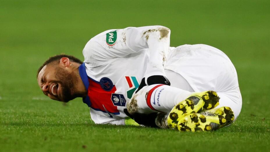 Neymar lesiones en Francia