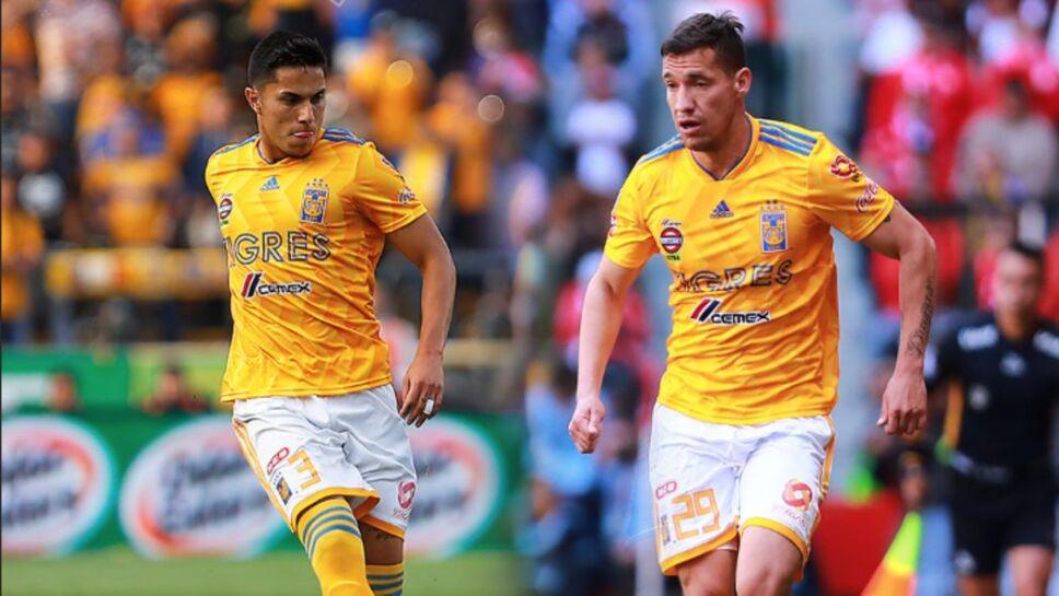 Jesús Dueñas y Carlos Salcedo de Tigres