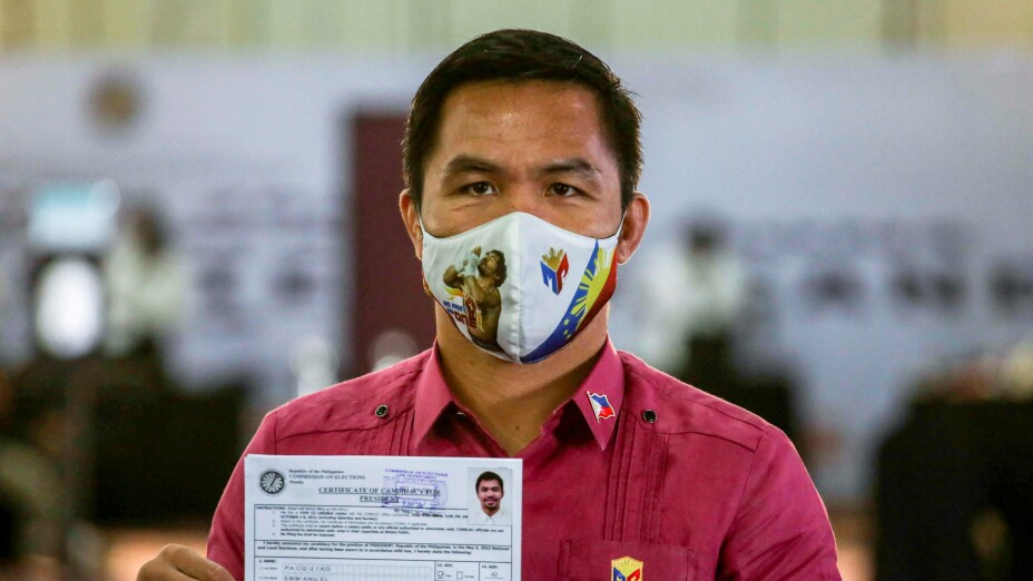 Manny Pacquiao candidato para presidencia de Filipinas