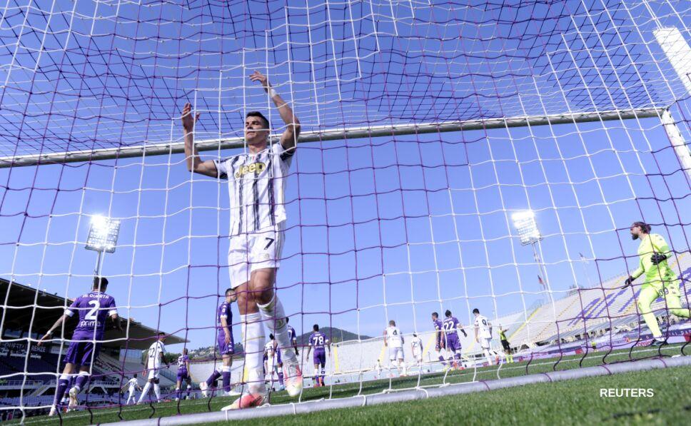 Cristiano Ronaldo ante Fiorentina