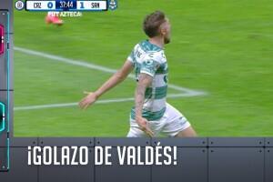 Diego Valdés puso el 1-0 en el marcador.
